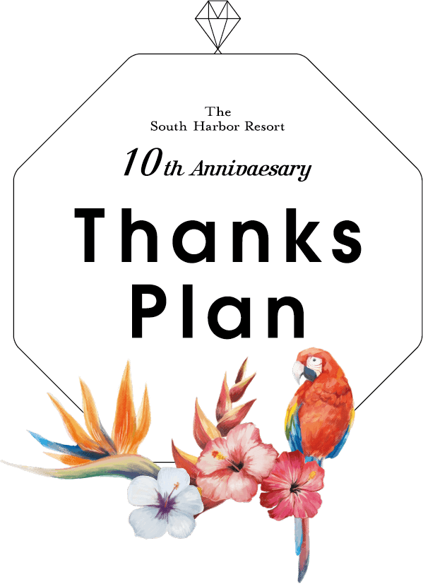 10th Anniversary Thanks Plan